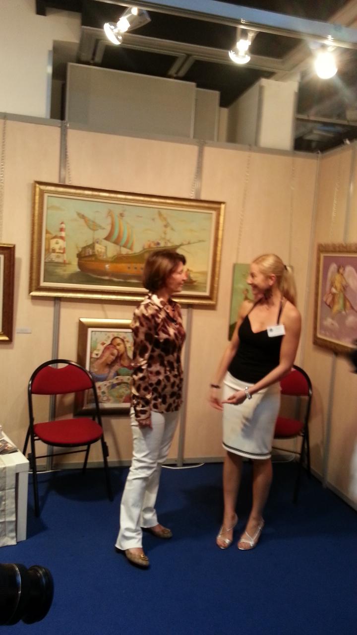 MARINA PICASSO AND ARTISTES DU MONDE