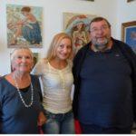 Mariana Kalacheva, Etiennete Boutou et Jacques Boutou