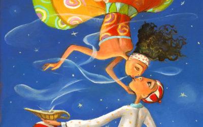 1001 st night - fine art paintings Mariana Kalacheva