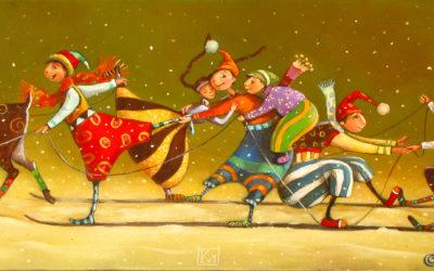 After party - fine art paintings Mariana Kalacheva