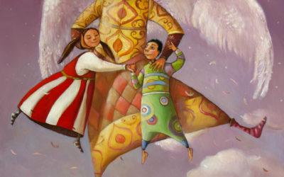 Azrael - fine art paintings Mariana Kalacheva