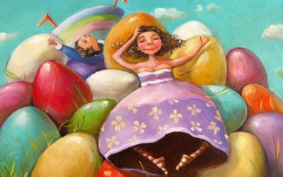 Break - fine art paintings Mariana Kalacheva