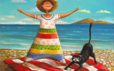 Freedom - fine art paintings Mariana Kalacheva