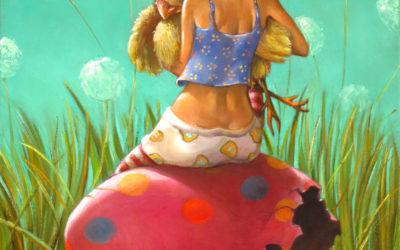 Friend - fine art paintings Mariana Kalacheva