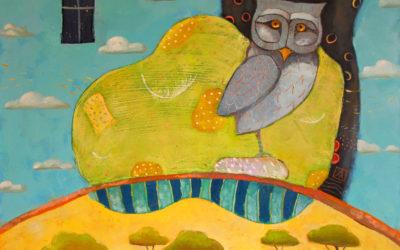 I whiff of forest - fine art paintings Mariana Kalacheva