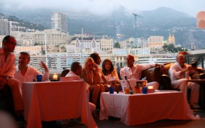 White Russian night in Monaco -