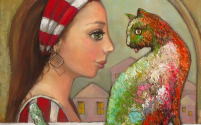 Legends II - fine art paintings Mariana Kalacheva