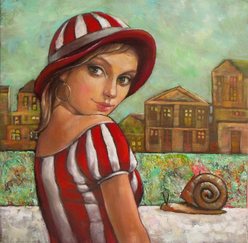 Lgends I - fine art paintings Mariana Kalacheva