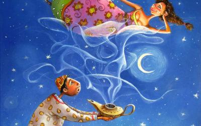 Magical smoke - fine art paintings Mariana Kalacheva
