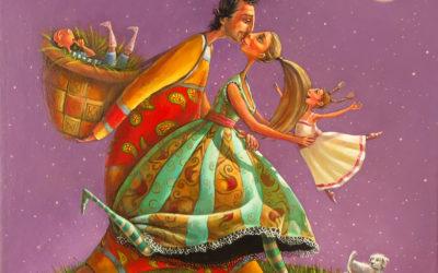 Moonwalk - fine art paintings Mariana Kalacheva