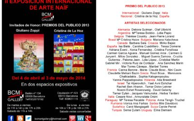 II EXPOSITION INTERNACIONAL DE ARTE NAIF, Fine art painting by Mariana Kalacheva