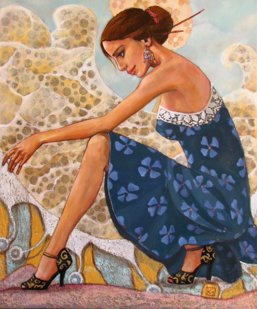 Sea of tango - fine art paintings Mariana Kalacheva