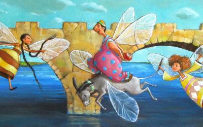 The gift - fine art paintings Mariana Kalacheva