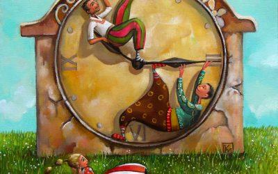 The last minute - fine art paintings Mariana Kalacheva
