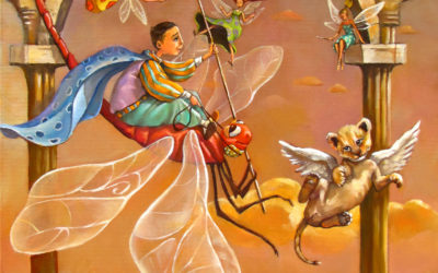 The little prince - fine art paintings Mariana Kalacheva