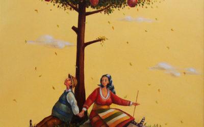 Tree of live - fine art paintings Mariana Kalacheva