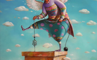 Tsadkiel - fine art paintings Mariana Kalacheva