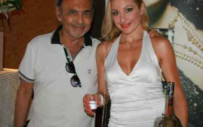 With Ronal David in the White Russian nights in Monaco;