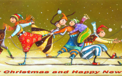 After Party - Christmas greeting card