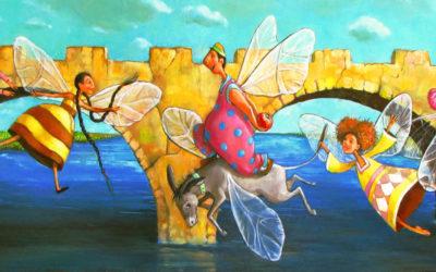 The gift; Fine art painting by Mariana Kalacheva