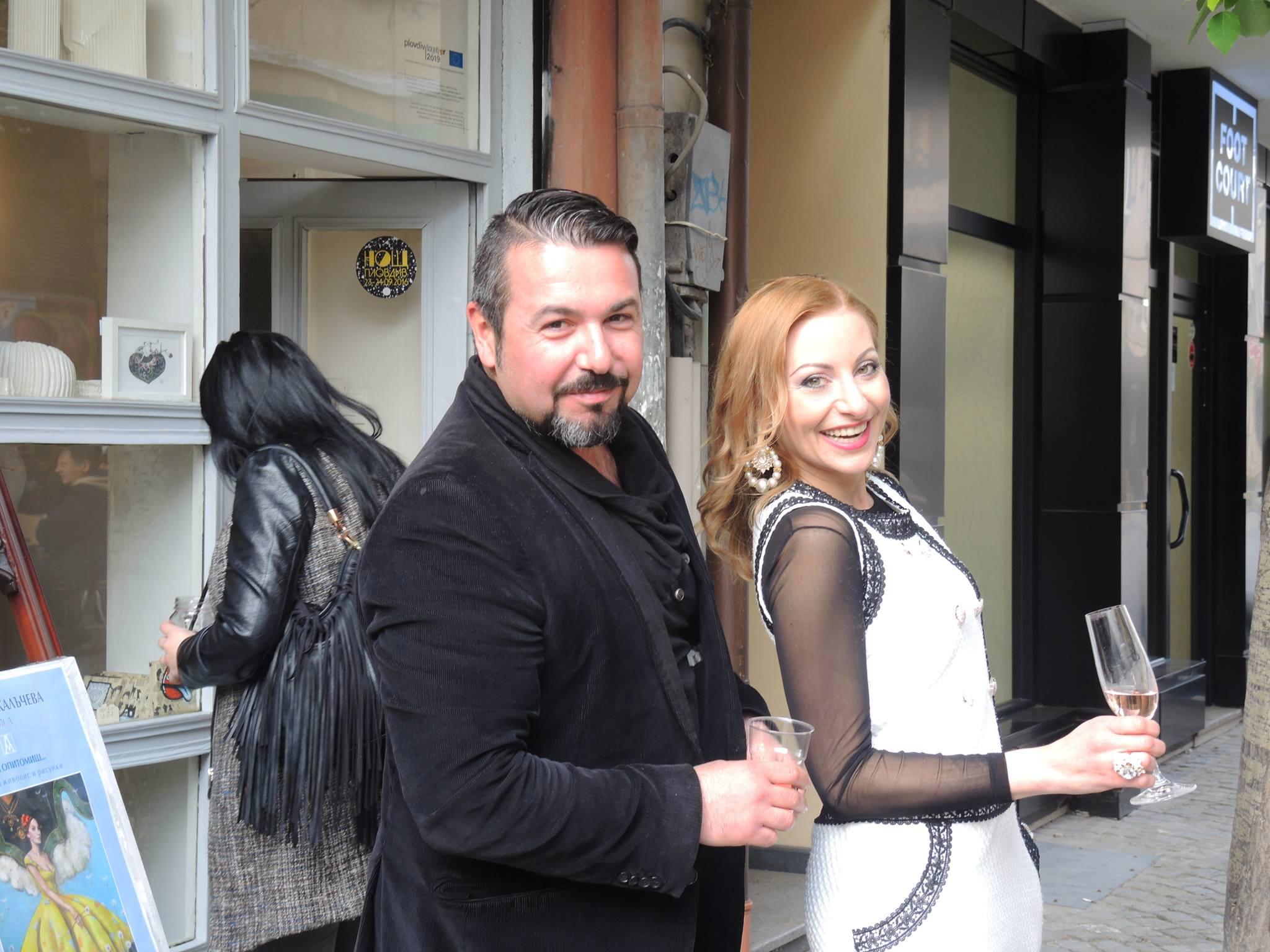 Mariana Kalacheva & Stanislav Prodanov in the Park STORE art gallery