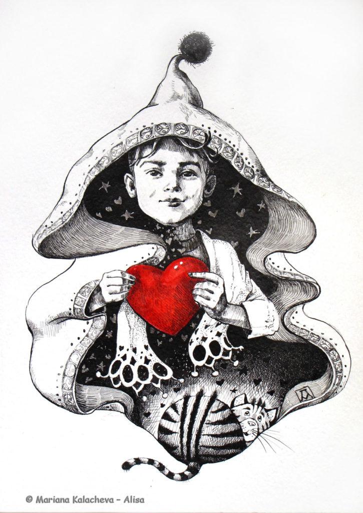 """""""I will find you"""", fine art by Mariana Kalacheva"""