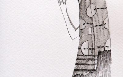 A soul - drawing, fine art by Mariana Kalacheva