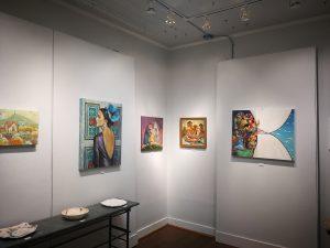 Whimsical in Caffery Gallery at White Light Night by Mariana Kalacheva