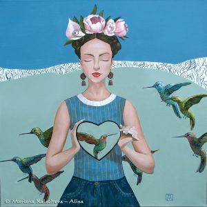 Humming with love; Fine art paintings by Mariana Kalacheva