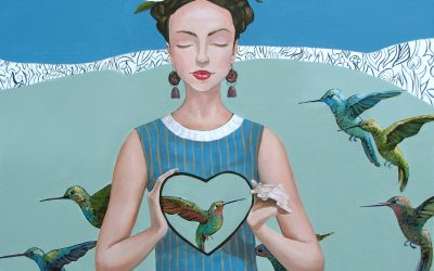 Humming with love; Fine art paintings by Mariana Kalacheva