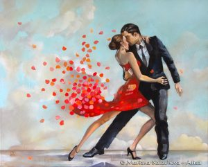 Scent of a woman; Fine art paintings by Mariana Kalacheva
