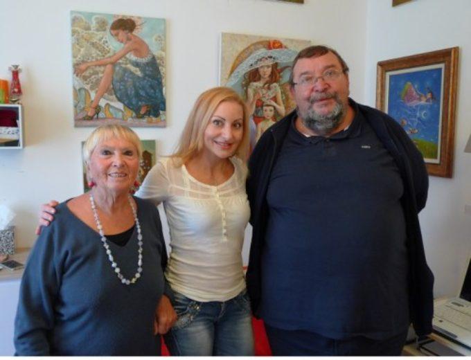 Association Menton – Sotchi :Une matinée avec l'artiste peintre Mariana Kalacheva
