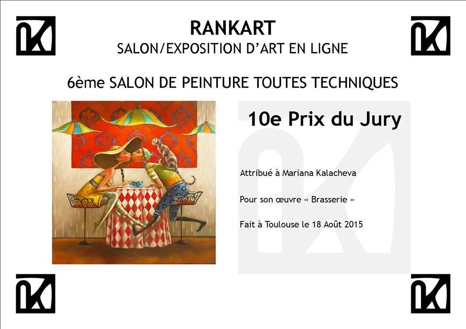 "RANKART SALON DE EXPOSITION D""ART EN LIGNE"