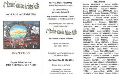 4-eme Rendez-vous des Artistes Naifs ;Fine art painting by Mariana Kalacheva