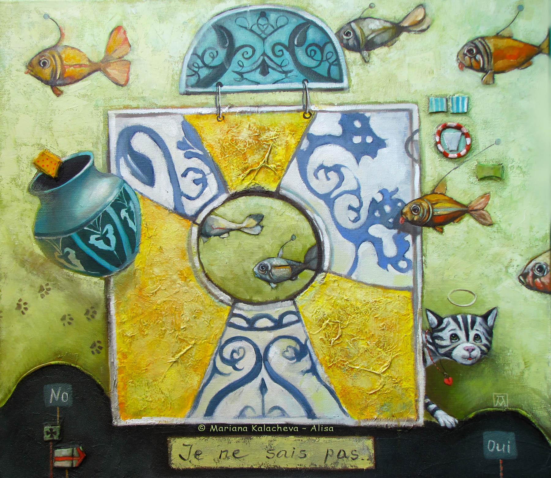 Fine art painting by Mariana Kalacheva