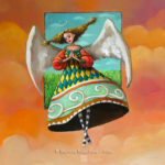 """If I were an angel"" Fine art painting by Mariana Kalacheva"