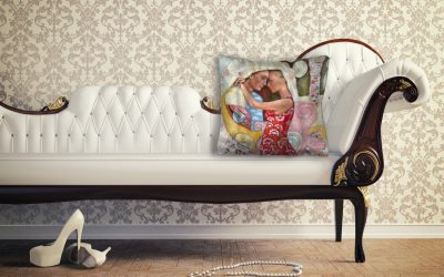Sofa & Satin cushion