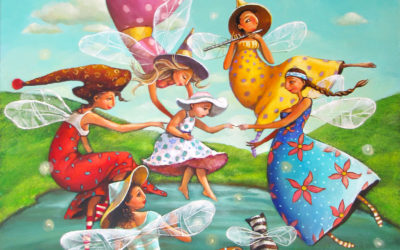 The fairies - fine art paintings Mariana Kalacheva