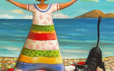 Freedom; Fine art painting by Mariana Kalacheva