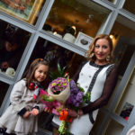 Mariana Kalacheva & a little lady in the Park STORE art gallery