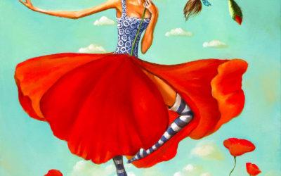 Elsa, Fine art painting by Mariana Kalacheva
