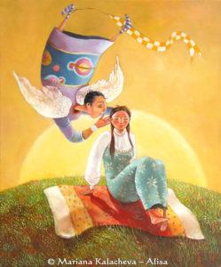 Gabriel - fine art paintings Mariana Kalacheva