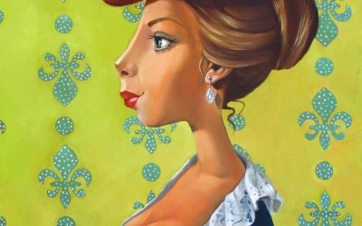 Madam Jalapeno; Fine art paintings by Mariana Kalacheva