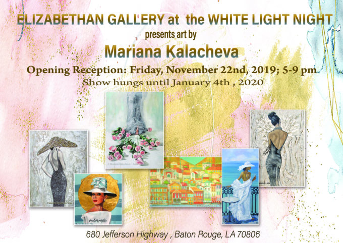 White Light Night at Elizabethan Gallery '2019