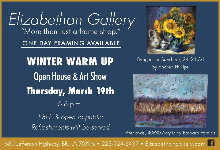 """""""Winter Warm Up"""" – a new presentation with paintings of Mariana Kalacheva in a common exhibition at Elizabethan Gallery"""