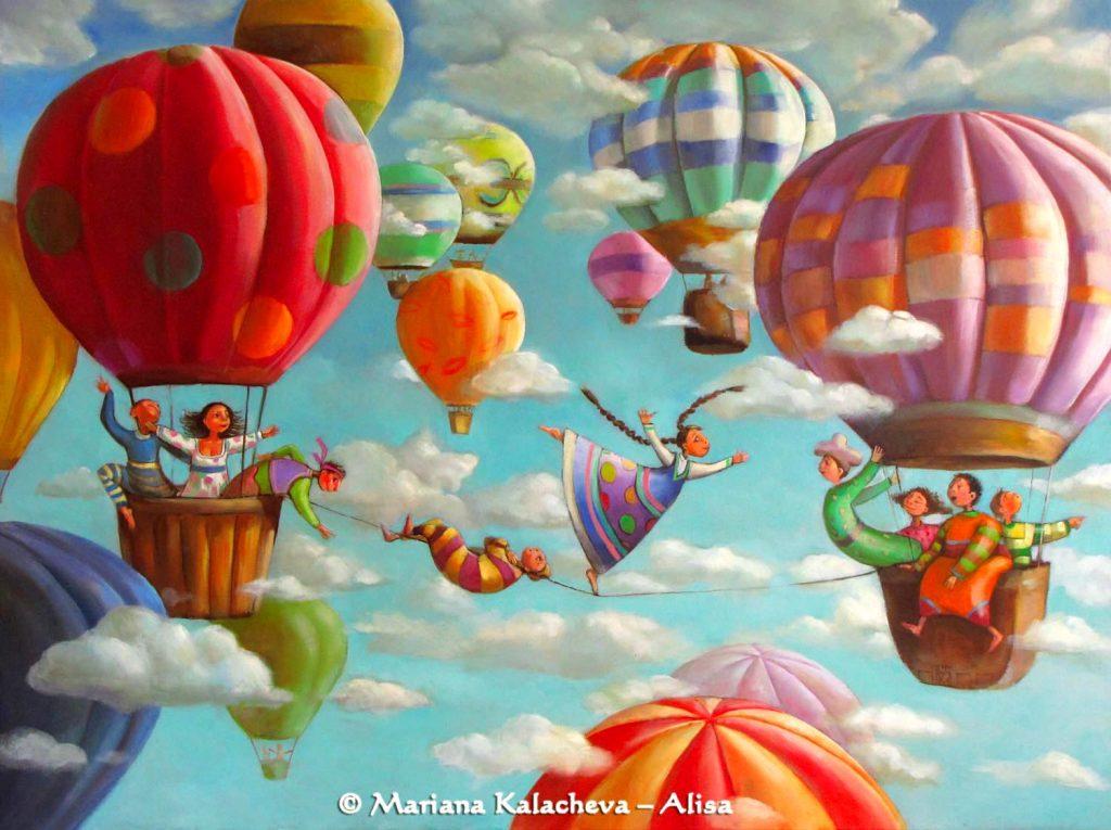 Fine Art Paintings by Mariana Kalacheva